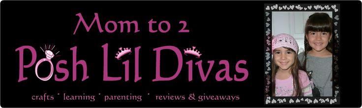 Mom talk, family fun, learning ideas and resources, creative crafts, playtime fun, product reviews and giveaways http://www.momto2poshlildivas.com/