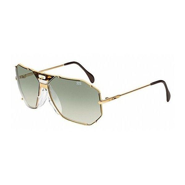 Cazal 905 097 ($407) ❤ liked on Polyvore featuring accessories, eyewear, sunglasses, havana olive gradient, acetate sunglasses, acetate glasses, cazal eyewear, gradient sunglasses and cazal sunglasses
