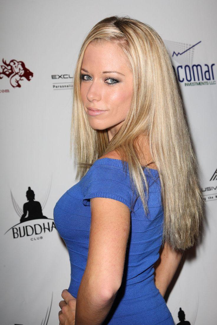 kendra wilkinson - one of hugh hefner's ex girlfriends. after