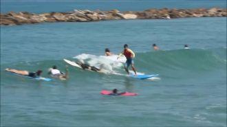 Szaltózni szörfözés közben