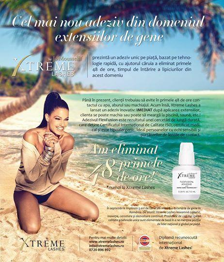 Xtreme Lashes Romania in Make-up Magazine 2014
