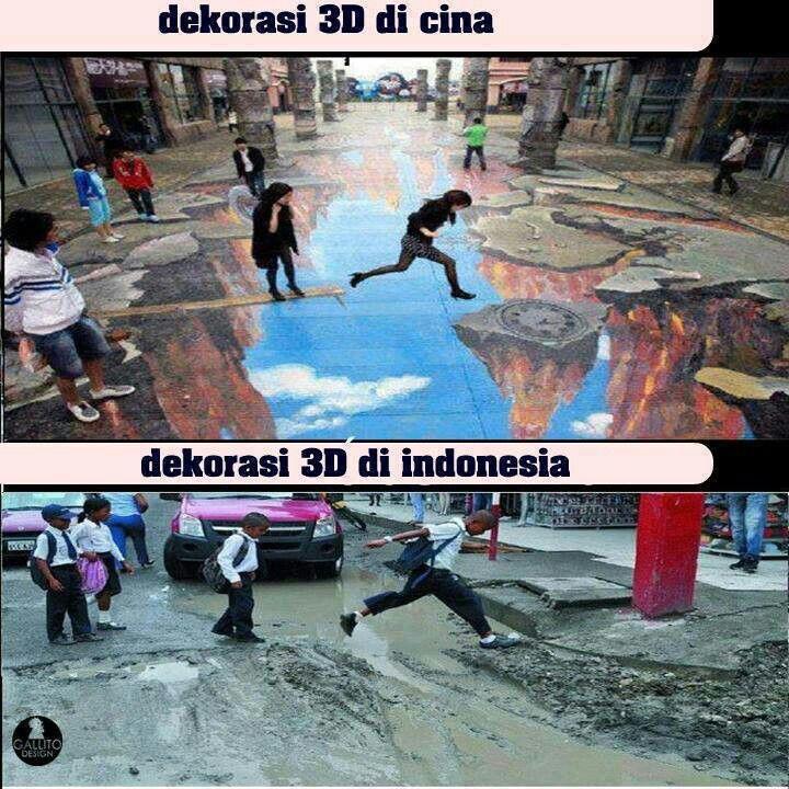 3D Art Indo VS Cina