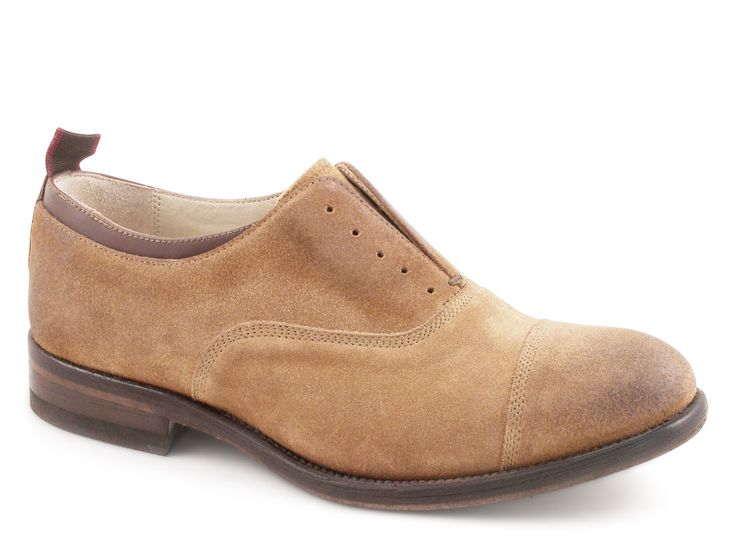 Smith's American women's shoes in tobacco suede leather - Italian Boutique €169