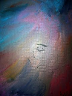 A Pretty Talent Blog: Free Painting In Oils