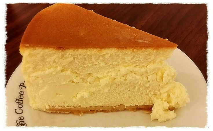 Chicago cheesecake from coffee bean tea leaf food