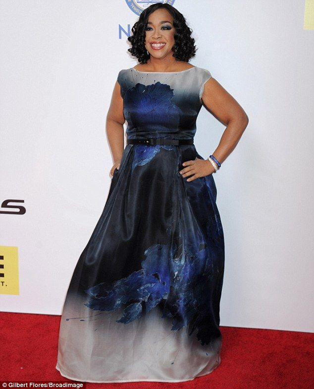 Creative force: Of course, Shonda Rhimes, 46, is responsible for the outrageously popular 'Shondaland' block of programming on ABC which includes Grey's Anatomy, Scandal and How to Get Away with Murder