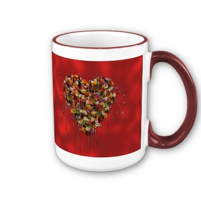 Heart of Flowers Mug  $17.95