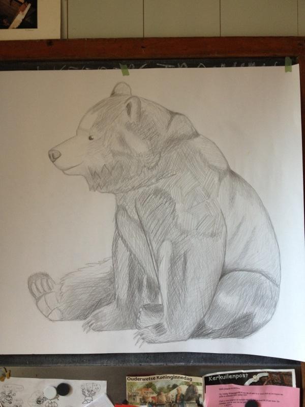 Bear after Sandra Dieckmann