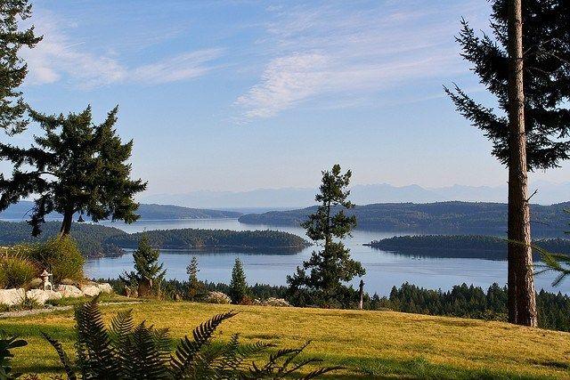 Biking Salt Spring Island in British Columbia