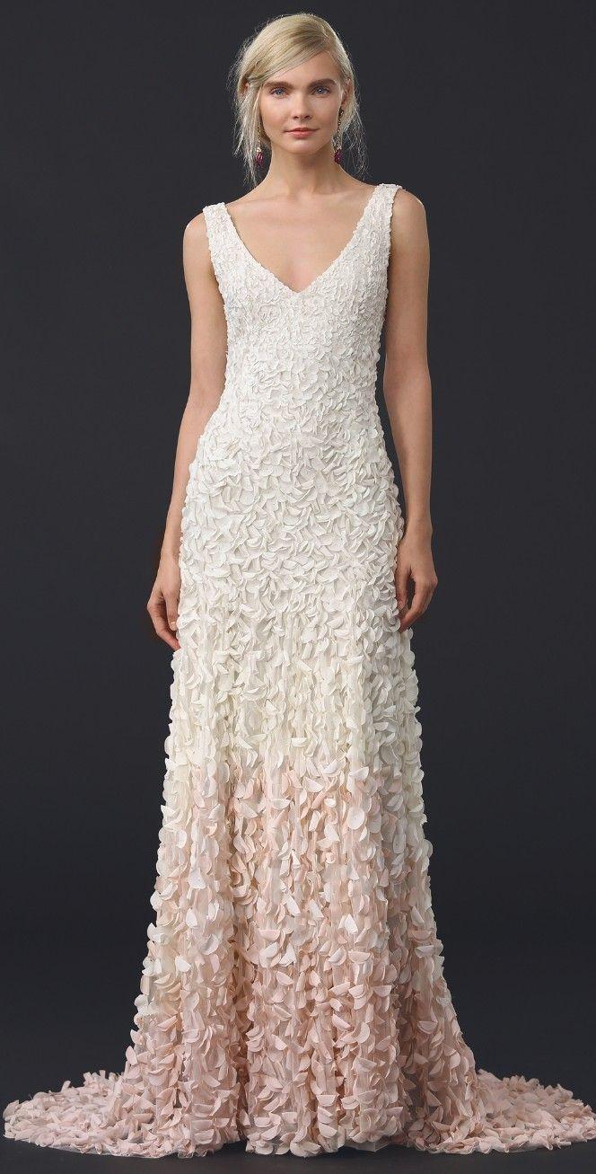 Emma Embroidered Petal Gown | Wedding dresses | Pinterest ...