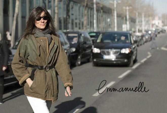 Emmanuelle Alt - my favorite in Parisian style. Impossible de faire une semaine Parisienne sur le blog sans parler d'Emmanuelle Alt, si ? Si ? Non.   Cette photo prise pendant la fashion week m'a rappelé l'un de mes (nombreux) blocages mode dans la vie (par contre question sur-dramatisation, apparemment, ça va, je ne fais pas de...