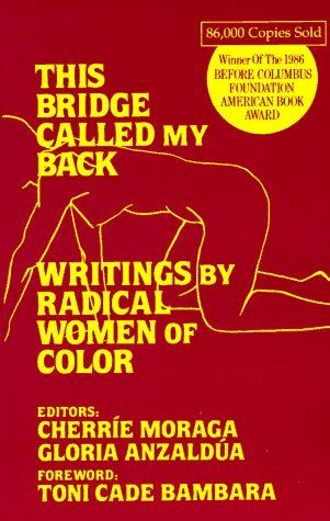 This Bridge Called My Back Writings by Radical Women of Color - Edited by Cherríe L. Moraga and Gloria E. Anzaldúa with foreword by Toni Cade Bambara