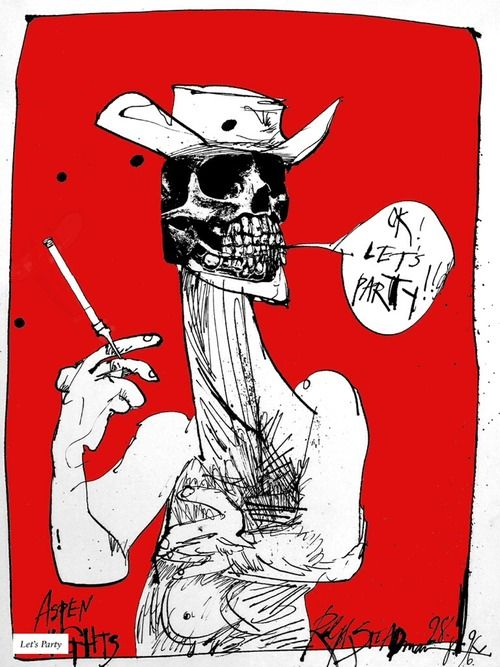 Ralph Steadman. America! You asked for this!