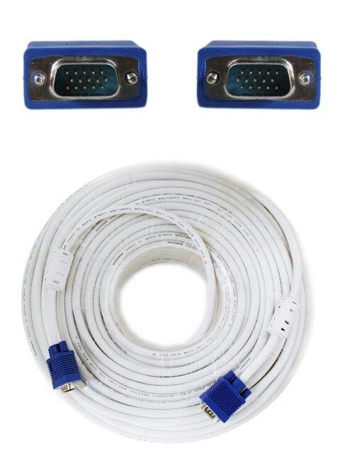 Kabel VGA 50M High Quality - High Quality VGA Cable - Jack Biru - Panjang 50 meter Harga rp525.000 Info detail di : www.tokomipo.com