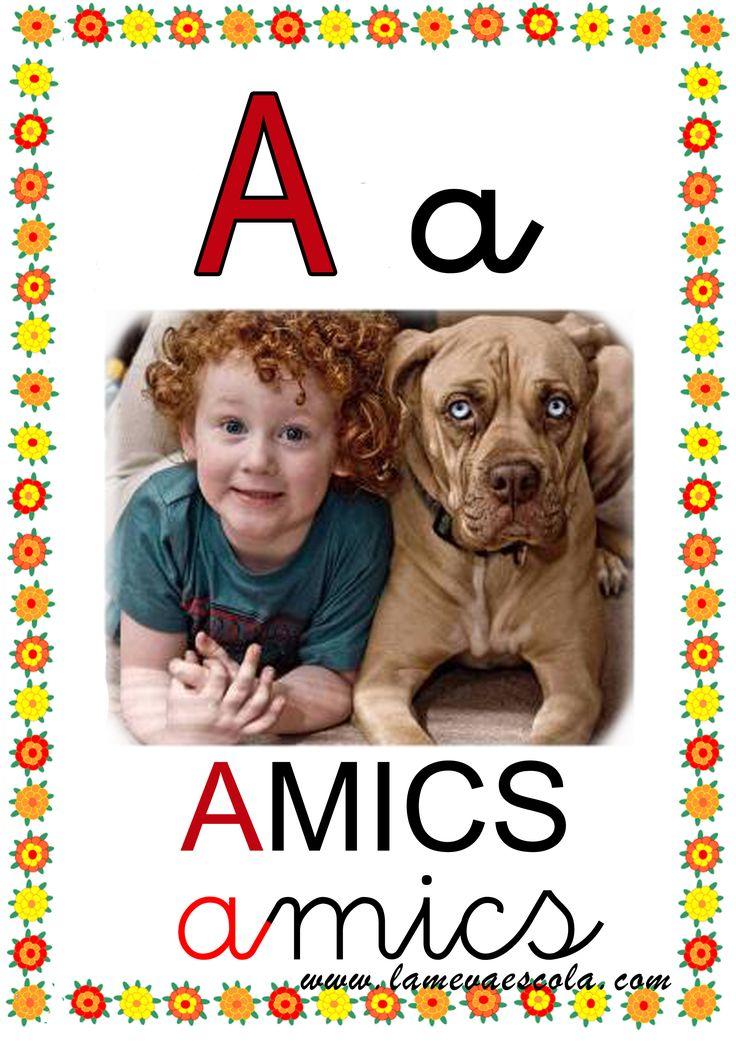 Tot l'abecedari al tauler abecedaris lamevaescola.com
