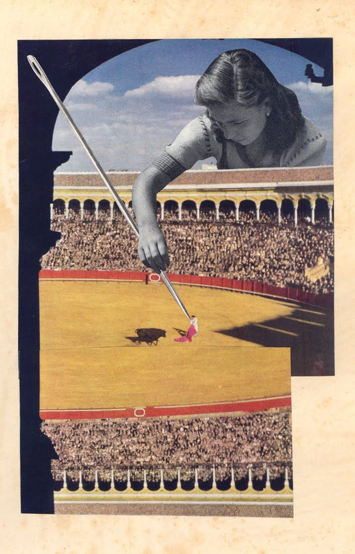 gloria vilches / collages