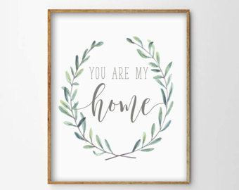 Little Houses Print Small House Print Quote by LiviLouDesigns