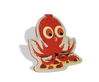 Luggage Tag - Octopus Series