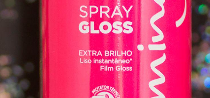Já pensou em um Spray que dá brilho e deixa os cabelos lisos sem nenhum frizz? Sabia que ele existe e que cabe no seu bolso? Saiba mais no blog!  http://fascinioporesmaltes.com/cless-charming-spray-gloss/