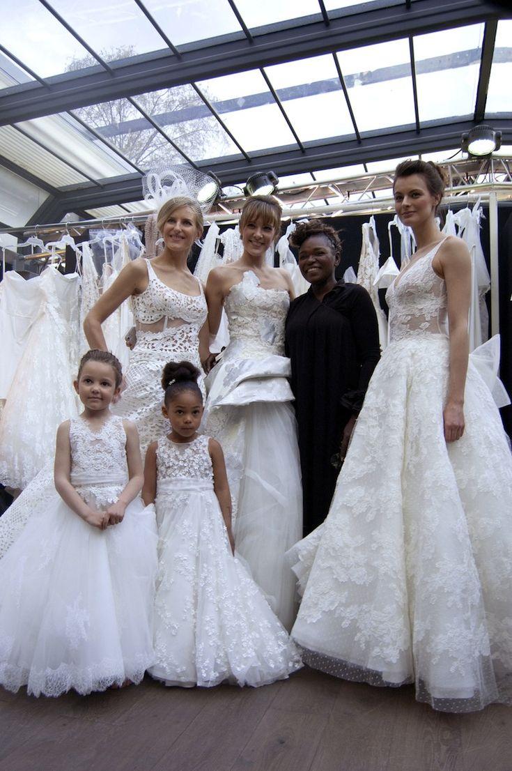 Défilé Cymbeline collection 2018 - Wedding dress Robe de Mariée Show Défilé