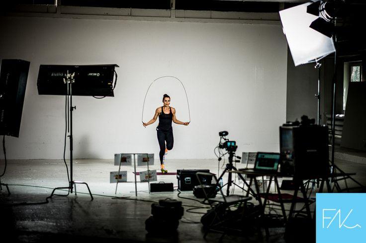 Backstage - nagranie dla Fitnoteq Lidii Zamyłko. Świetne ćwiczenia na spalanie. Pobierz app z https://fitnoteq.com