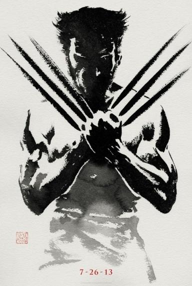 """Hugh Jackman retrouve les griffes de Logan dans """"The Wolverine""""."""
