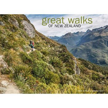 New Zealand Great Walks of New Zealand Calendar 2014