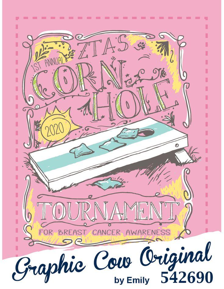 Cornhole Tournament for charity #zta #grafcow