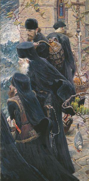 Павел Рыженко. Братия.