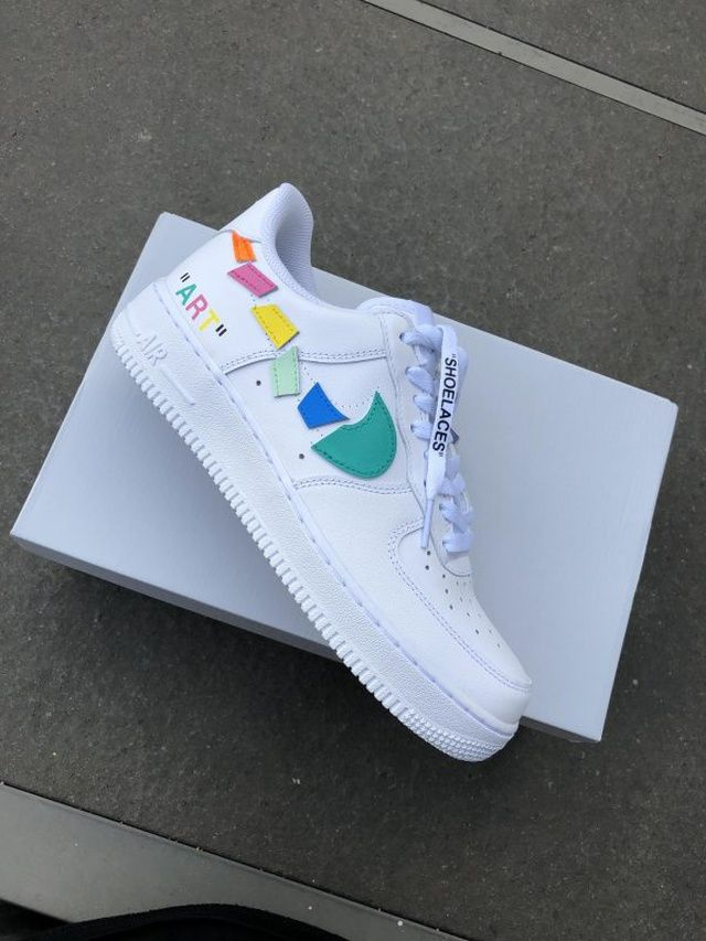 Custom sneakers Nike Air Force 1 ''Flowers'' | THE CUSTOM MOVEMENT