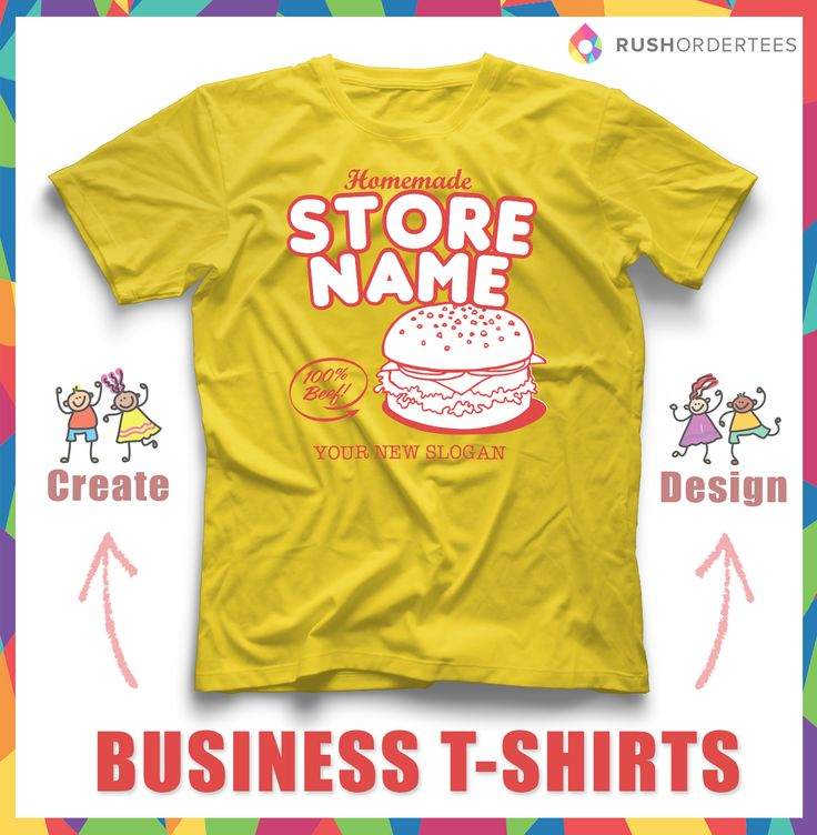 1000 images about business t shirt idea 39 s on pinterest for Order custom t shirts cheap