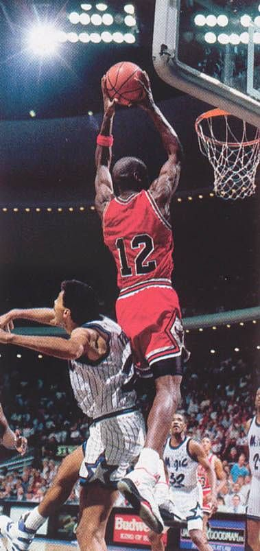 Michael Jordan's jersey was stolen from the locker room before one game. So, he put on a jersey without a name and dropped 49 points on the Magic. :)