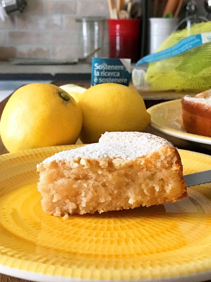 Ecco la ricetta della mia torta al limone! Profumata, semplice e sana, perché, essendo fatta con limoni non trattati, utilizza sia il succo che la scorza.