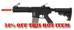 APS M4 SF Airsoft Blowback AEG Gun 109  COUPON CODE: APSMADNESS for 30% OFF  http://www.airsplat.com/Items/ERM-APS-M4-109.htm  Specifications:  - Velocity: 330 FPS (0.20g BB) / Range 130-140 Feet  - Barrel Length: 12 inches / 37 cm  - Magazine Capacity: 300 Rounds  - Overall Length: 27.25 inches Collapsed / 30.25 inches Extended  Features:  - Metal Gearbox  - Full Metal Receivers  - Tactical Extended Muzzle Brake  - Electric Blowback  - Battery and Charger Sold Separately  - Made in China