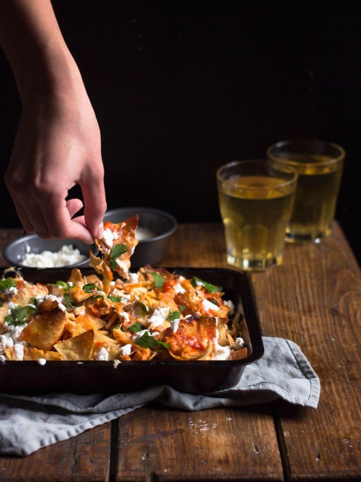 Buffalo chicken nachos/Начос с курицей баффало  #nachos #chicken #mexican #foodblog #evilolivefood #evilolive_food #начос #курица #фудблог