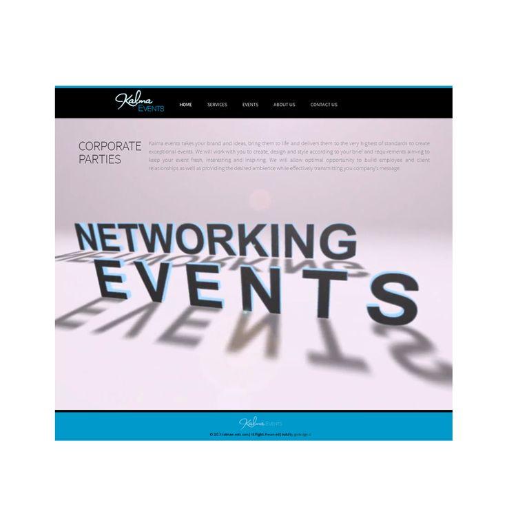 Webová prezentace | Kalma Events | Anglie 2013