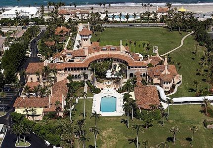 donald trump home