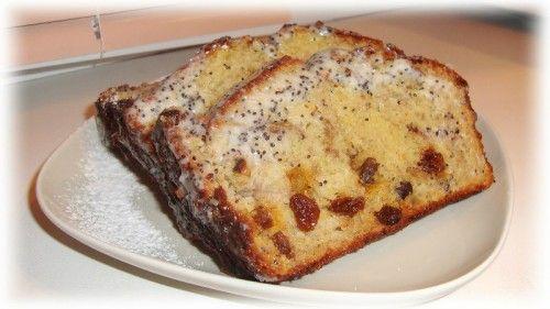 Домашний рецепт: Кекс с орехами, лимоном, бананом