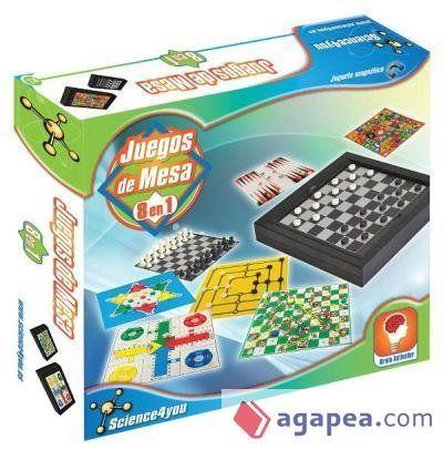GAMES IN SPANISH | Juegos de Mesa 8 en 1 (Classic Board Games 8 in 1) - Juego de la oca - Backgammon - Juego del molino - Serpientes y escaleras (Chutes and Ladders) - Parchís (Parcheesi) - Damas (Checkers) - Damas chinas (Chinese checkers) - Ajedrez (Chess) #SpanishGames