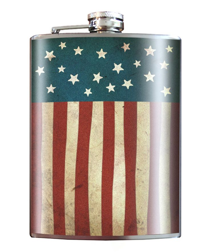 Another great find on #zulily! Trixie & Milo Old Glory 8-Oz. Stainless Steel Flask by Trixie & Milo #zulilyfinds