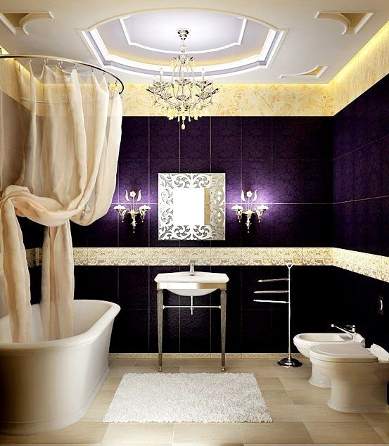 Best 25 Apartment Bathroom Decorating Ideas On Pinterest: Best 25+ Dark Purple Bathroom Ideas On Pinterest