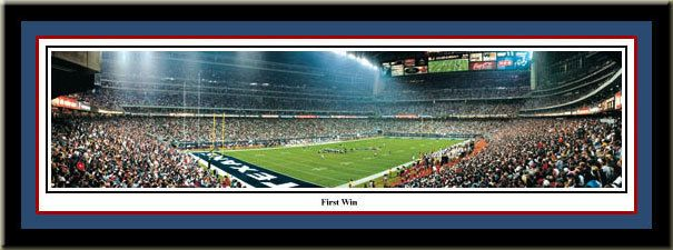 Houston Texans Picture panoramic print First win in Reliant Stadium Houston Texans vs. Dallas Cowboys #FirstWin #BullsOnParade #Texans