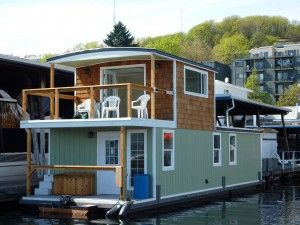 The Seahawk Houseboat