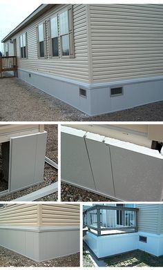 Rapid Wall Insulated Mobile Home Skirting Shipped Direct