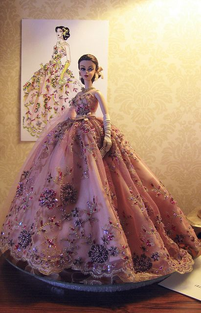 1000 images about all things barbie fashion dolls on for Artiste creation