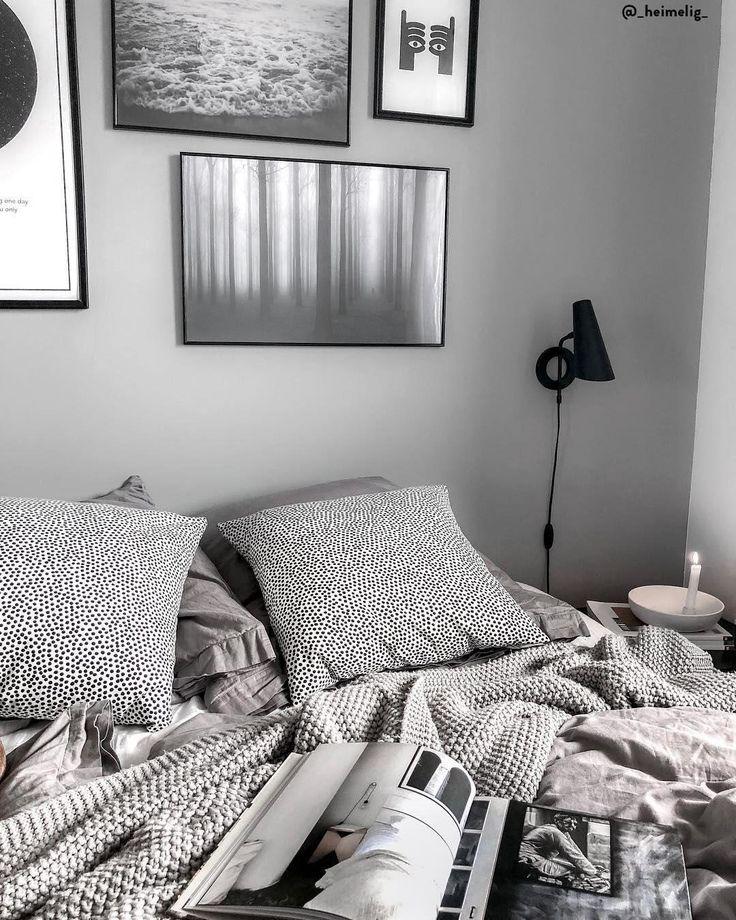 Wärme Und Natürlichkeit: Grey Dreams! Das Zeitlose Grau Lässt Dein Schlafzimmer