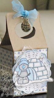Gable box, stampfairy