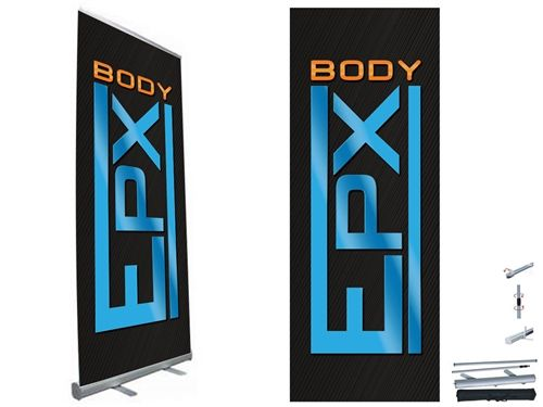 EPX Body - Banner - Retractable Standing - Design 3