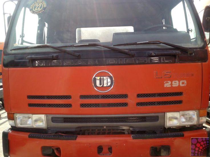 SEWAGE TANKER NISSAN UD L6 TURBO FOR SALE IN DUBAI