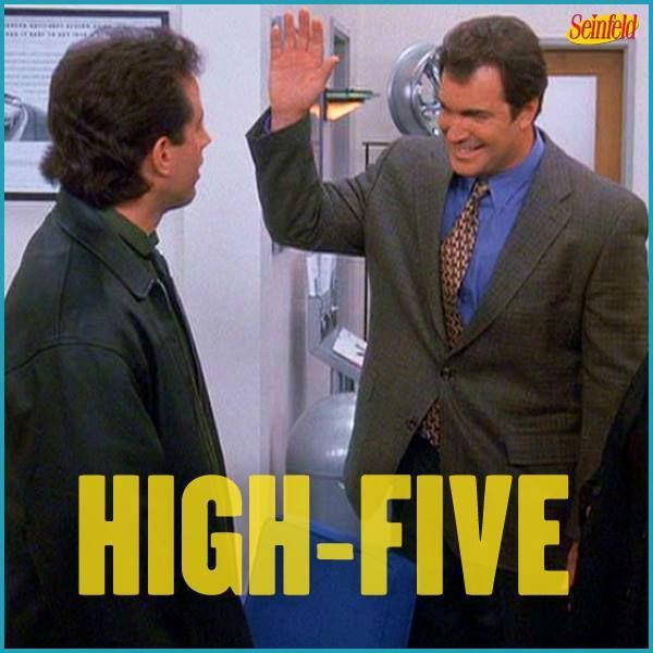 Happy National High-Five Day from Seinfeld!